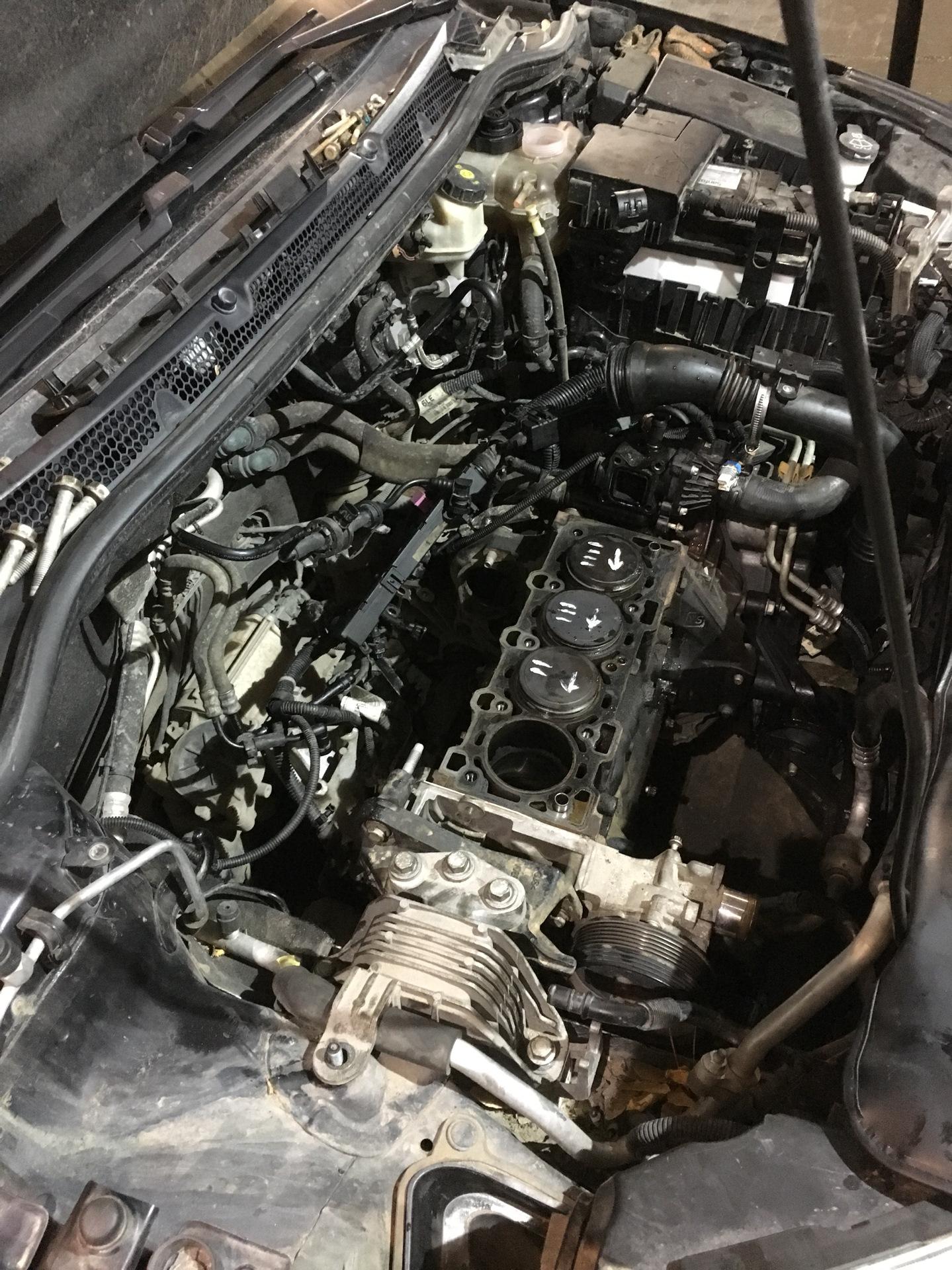 Двигатель Opel A16LET тюнинг