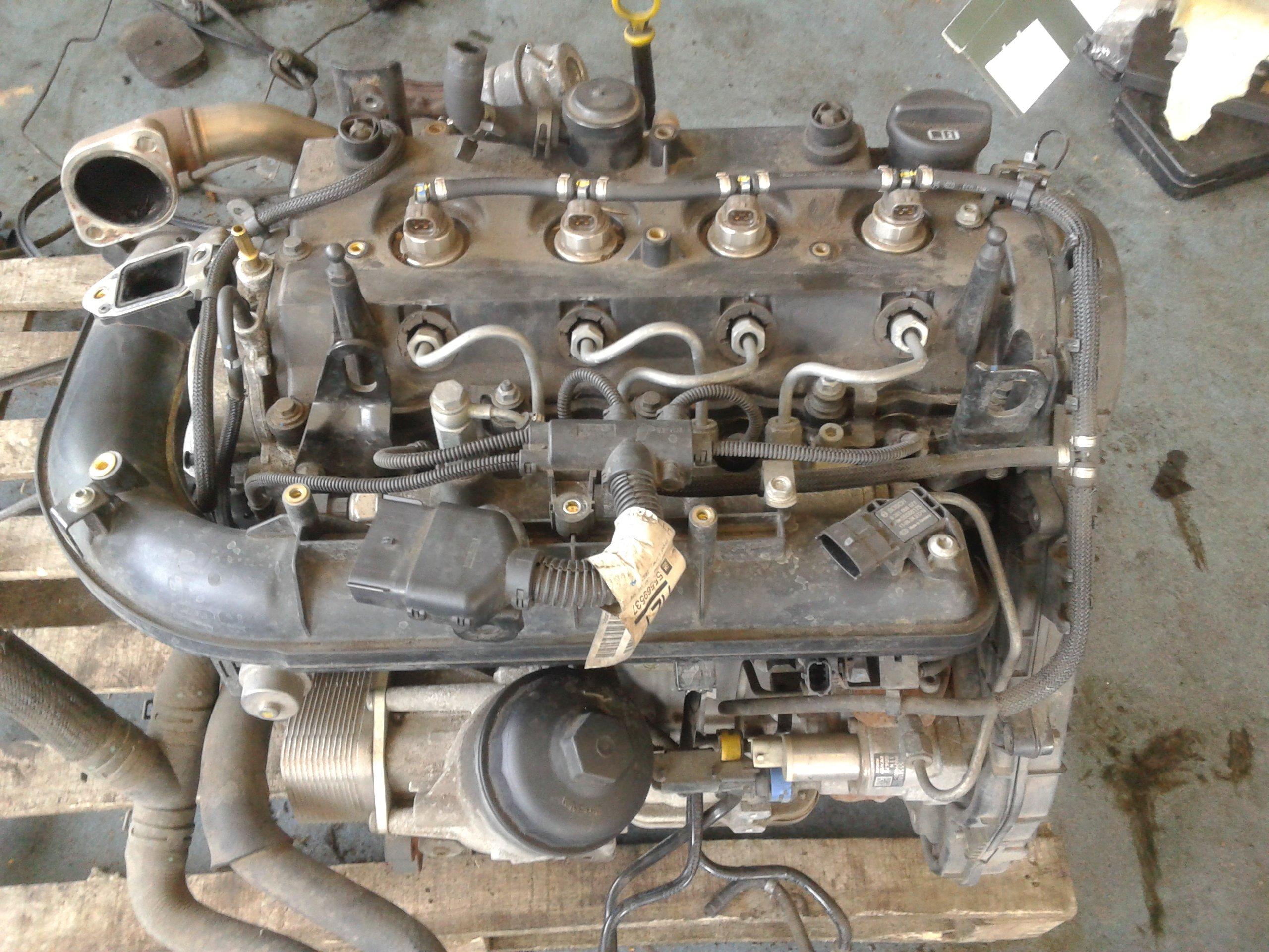 Двигатель Opel A17DTC