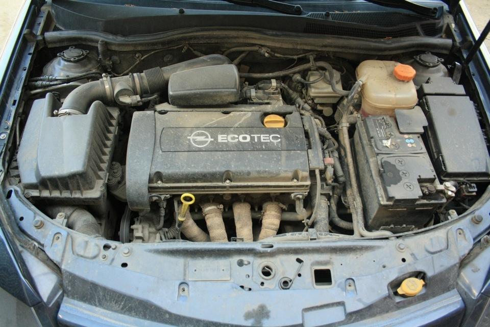 Двигатель Opel Z16XEP в Opel Astra
