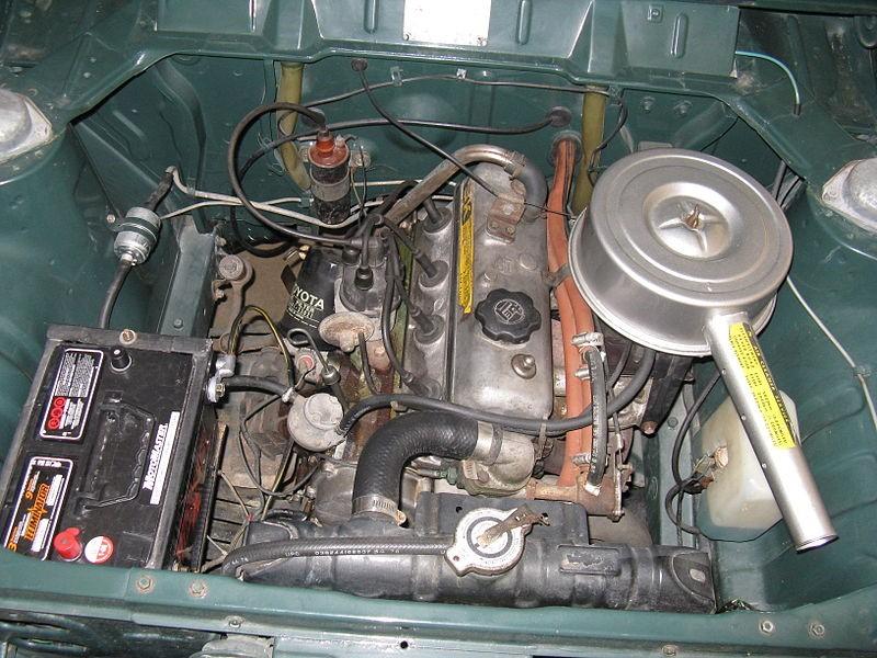 Двигатель Toyota 3K