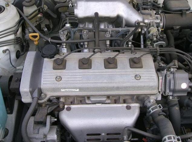 Двигатель Toyota 5A-FE 1.5 л