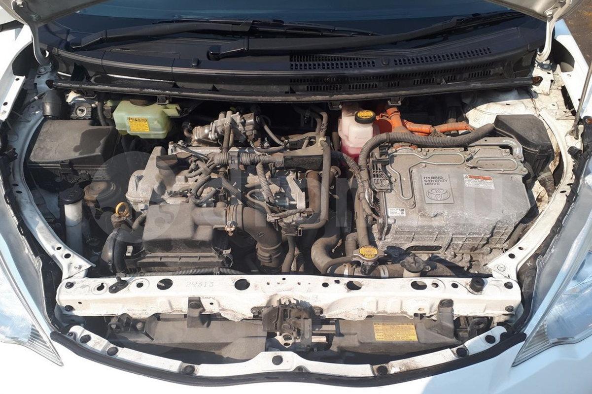 Двигатель Toyota Aqua