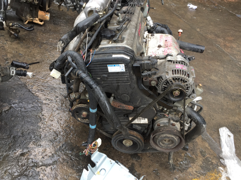 Двигатель Toyota Curren 4S-FE