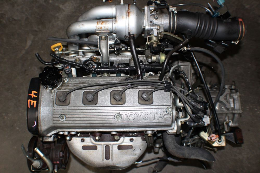 Двигатель Toyota Cynos 4E-FE