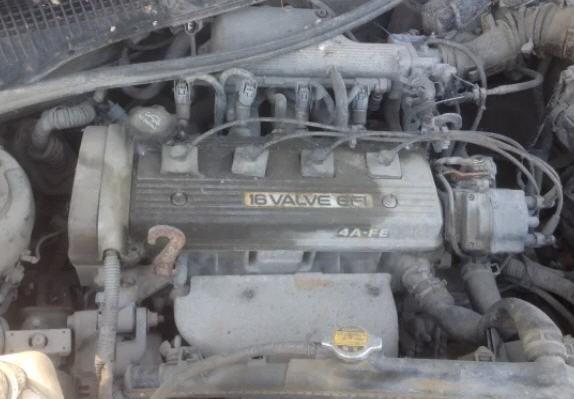Двигатель Toyota ДВС 4A-FE
