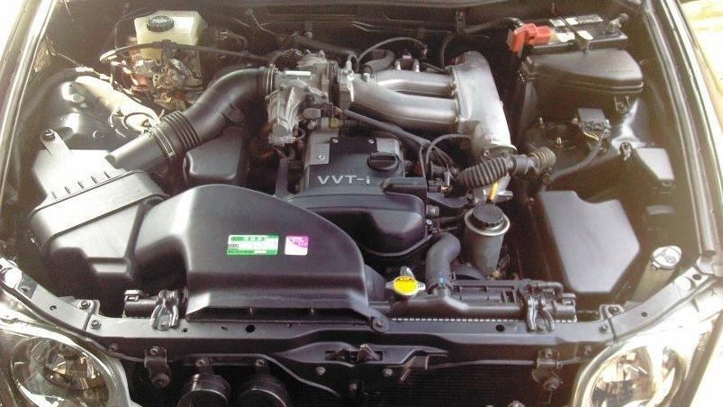 Двигатель Toyota Progres 1 JZ-GE
