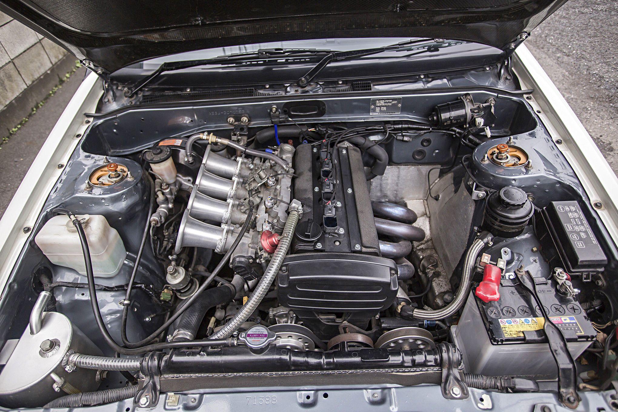 Двигатель Toyota Sprinter Trueno