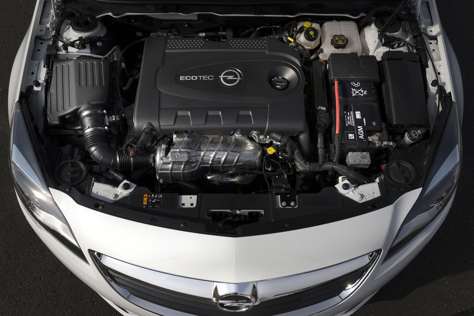 Двигатель в Opel Insignia