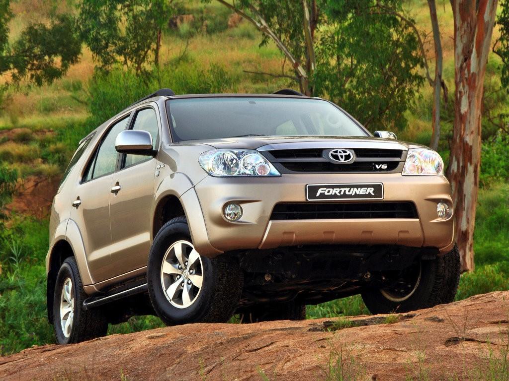 Fortuner (SW4) - тайская премьера Toyota