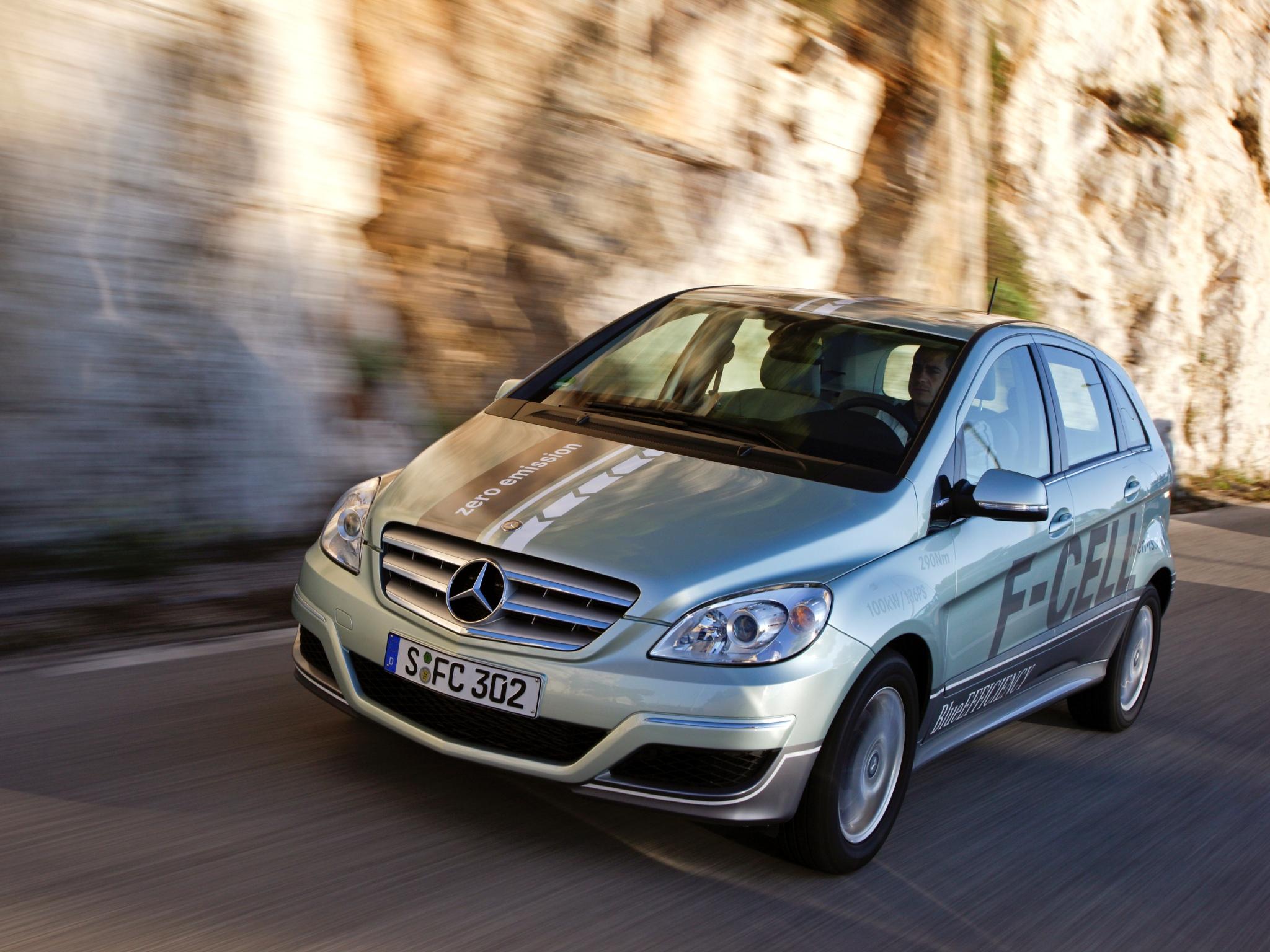 Хэтчбек Mercedes-Benz F-Cell