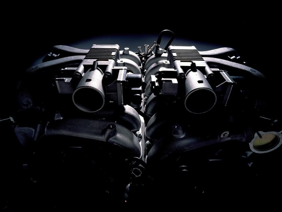 Монументальный силовой агрегат 1GZ-FE V12