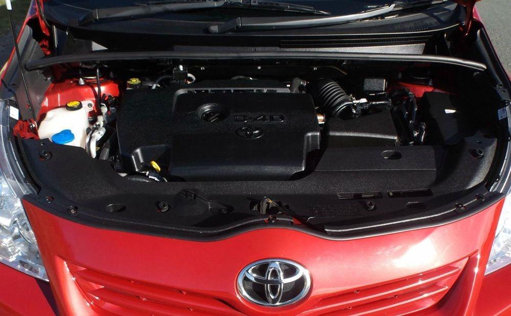 Мотор 1AD-FTV под капотом Тойота Королла Версо 2.0