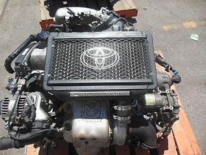 Мотор с турбонаддувом 3S-GTE