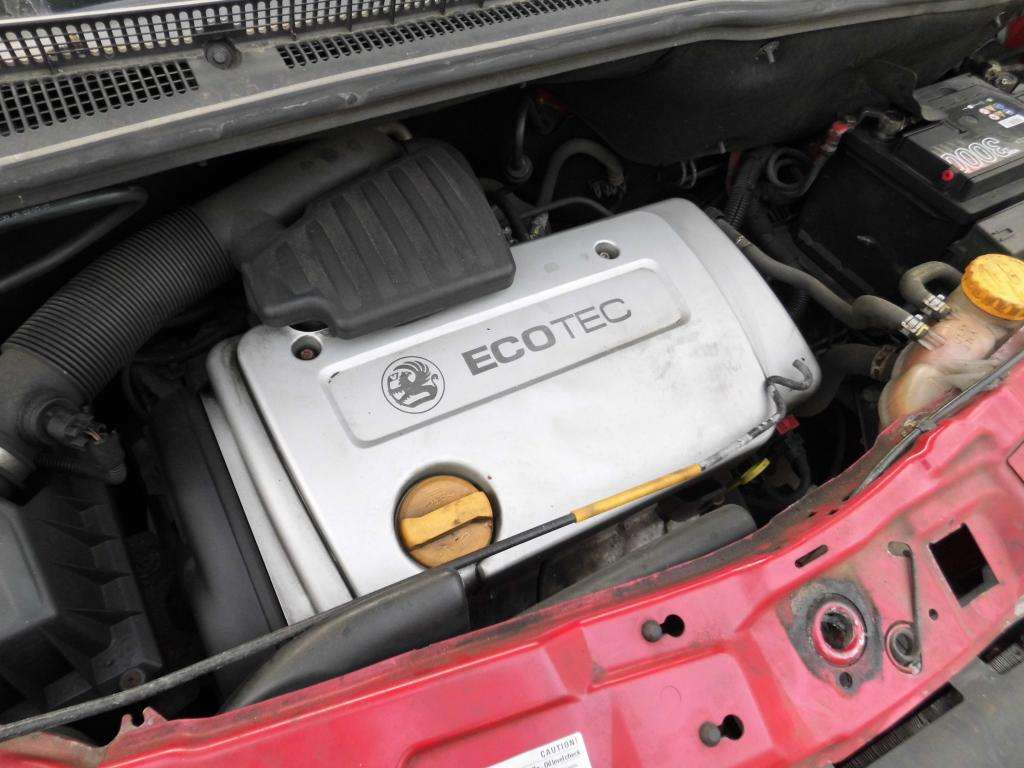Opel 1.6 16V Z16XE под капотом