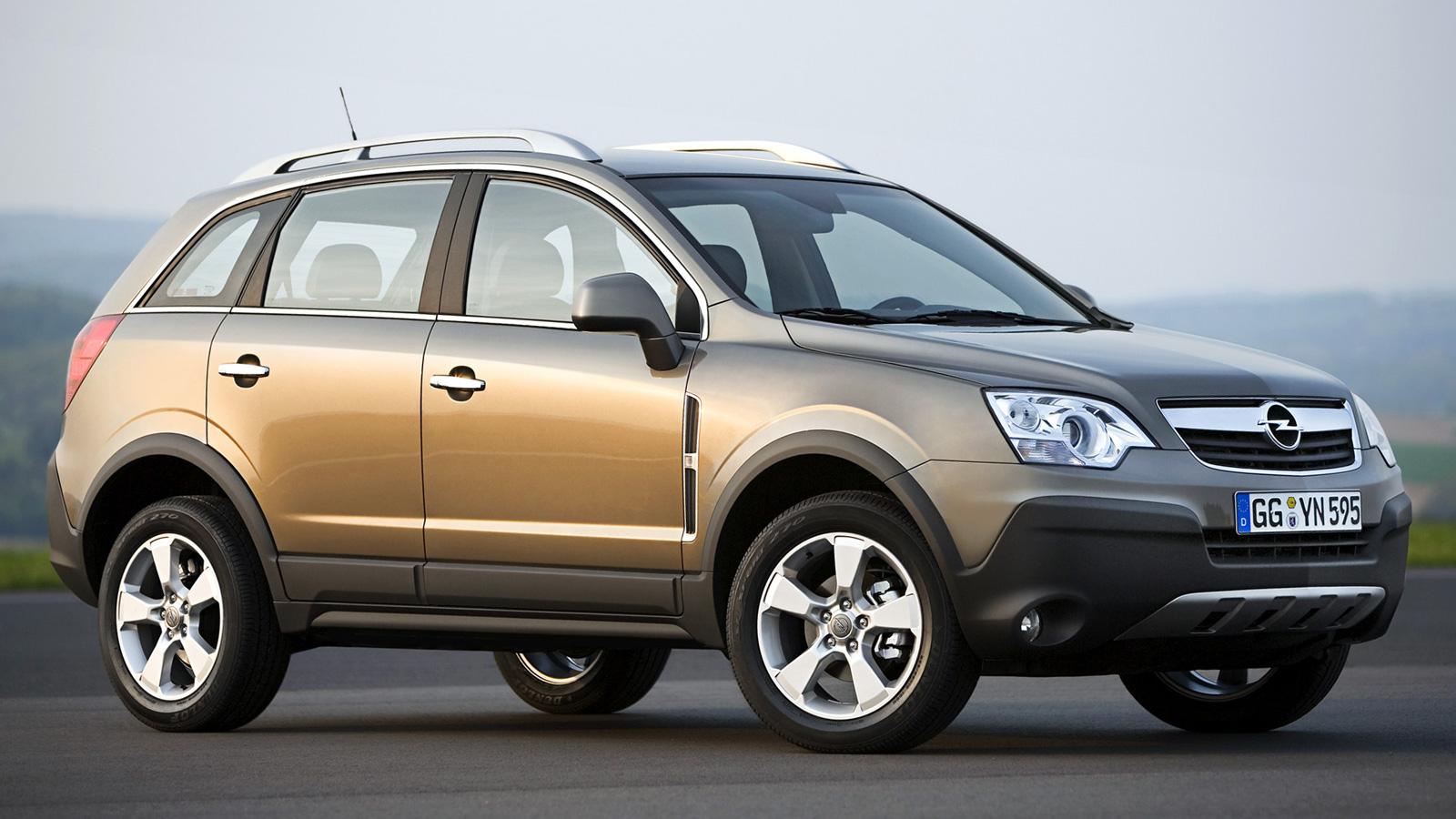 Opel Antara новое поколение