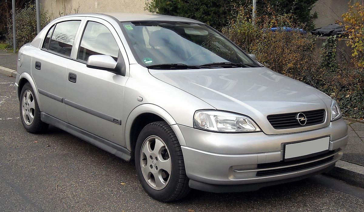Opel Astra 2002 года