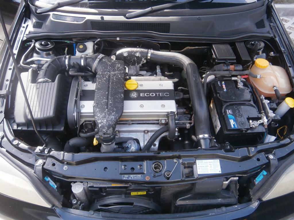 Opel Astra A16LET под капотом