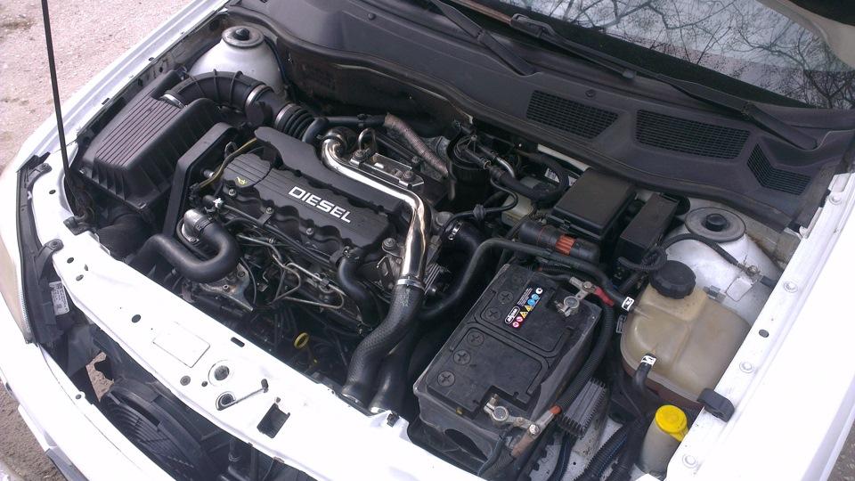 Opel Astra с двигателем X17DTL
