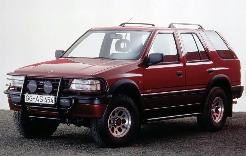Opel Frontera нового поколения