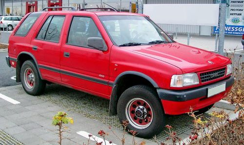 Opel Frontera с двигателем Opel VM41B