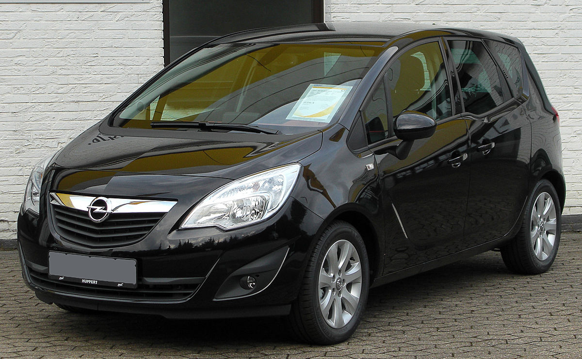 Opel Meriva B с двигателем A14NEL