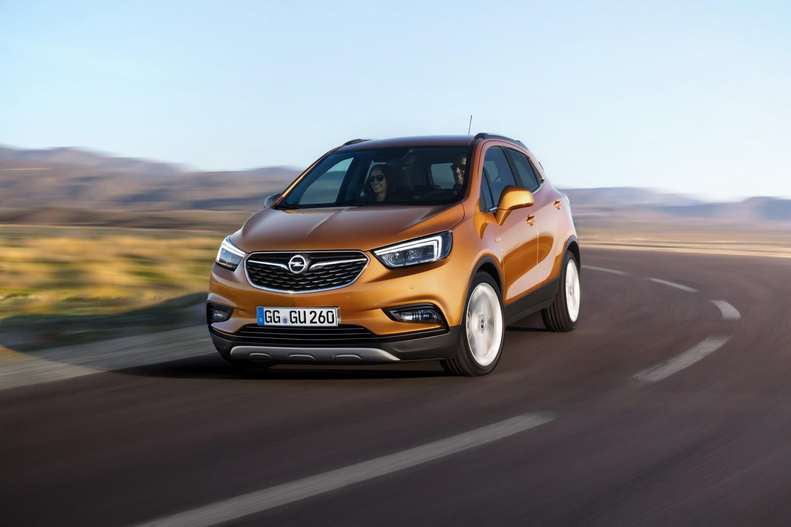 Opel Mokka второе поколени кроссовера
