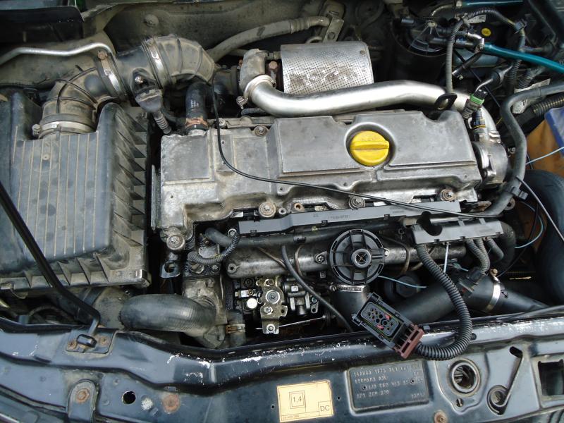 Opel Vectra A двигатель Y17DTL