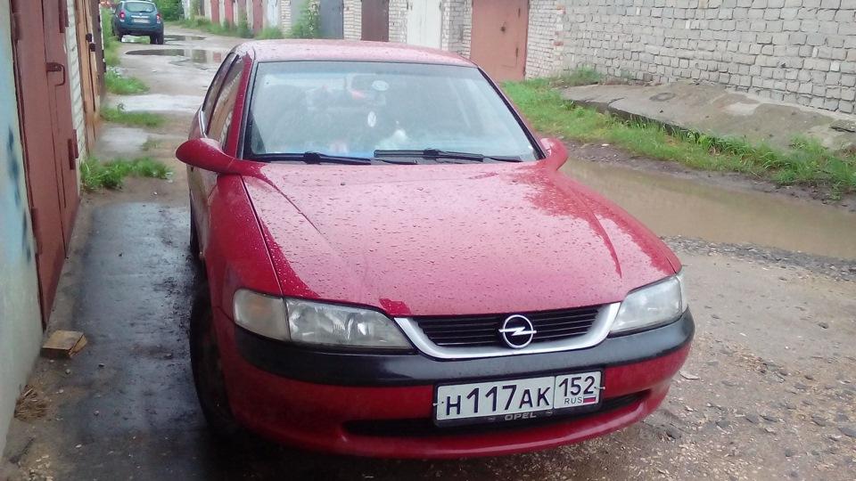 Opel Vectra с двигателем 20NEJ