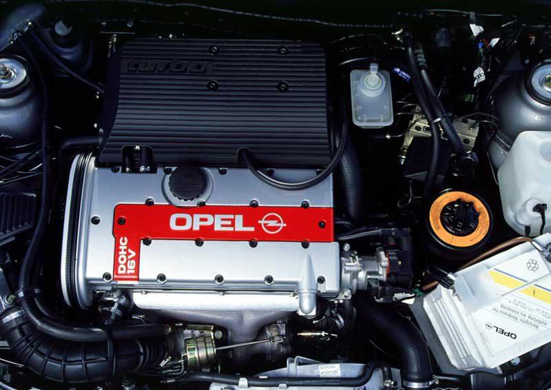 Opel Vectra с двигателем Y26SE