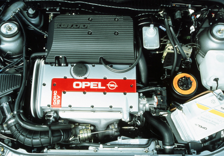 Opel Vectra Turbo под капотом