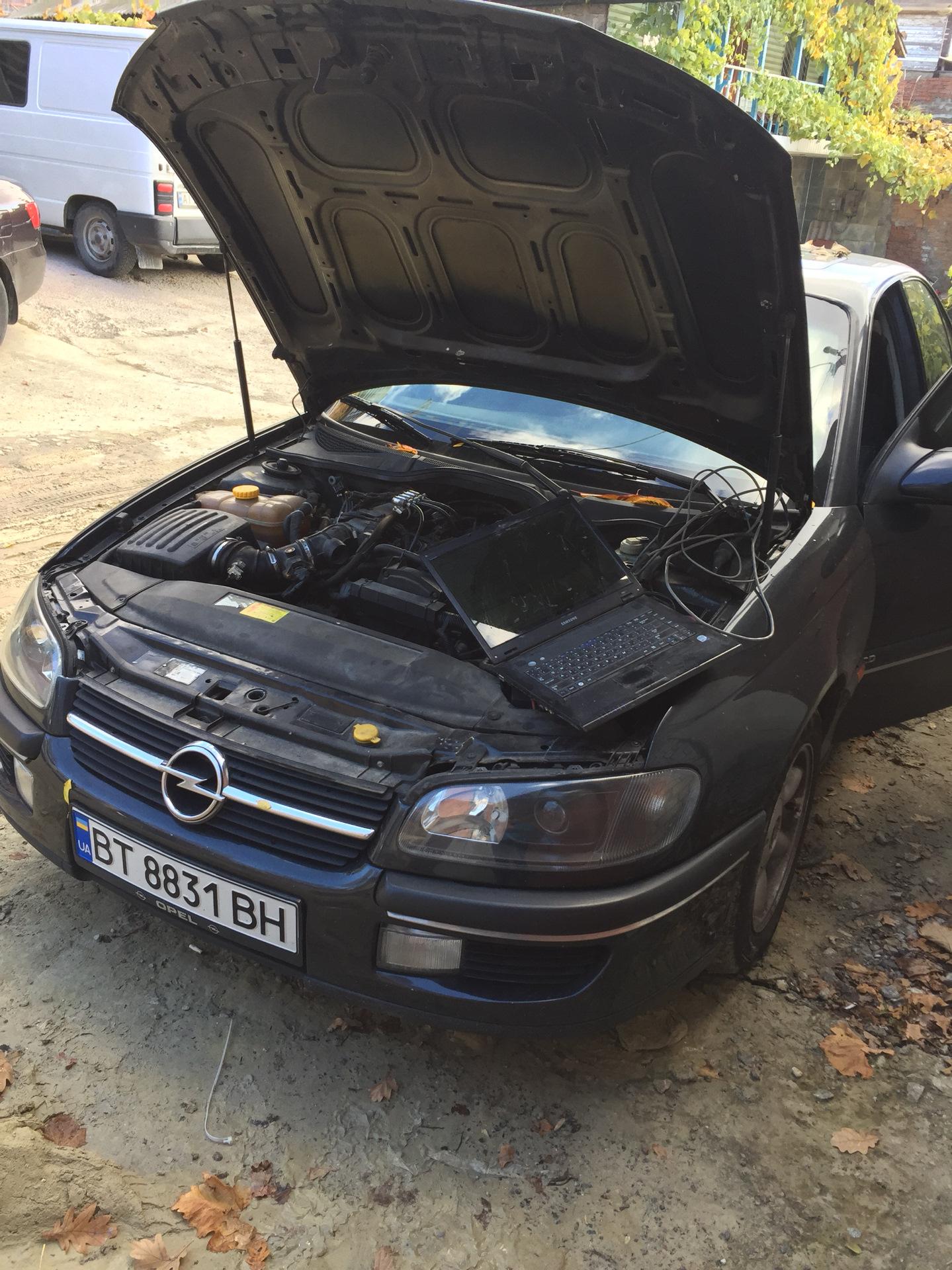 Opel X20SE ГБО