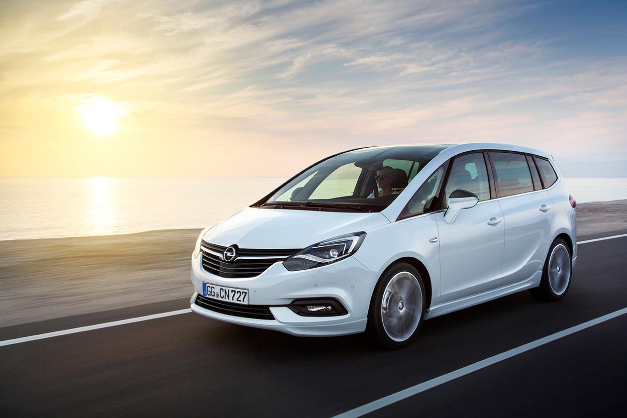 Описание и характеристики автомобиля Opel Zafira