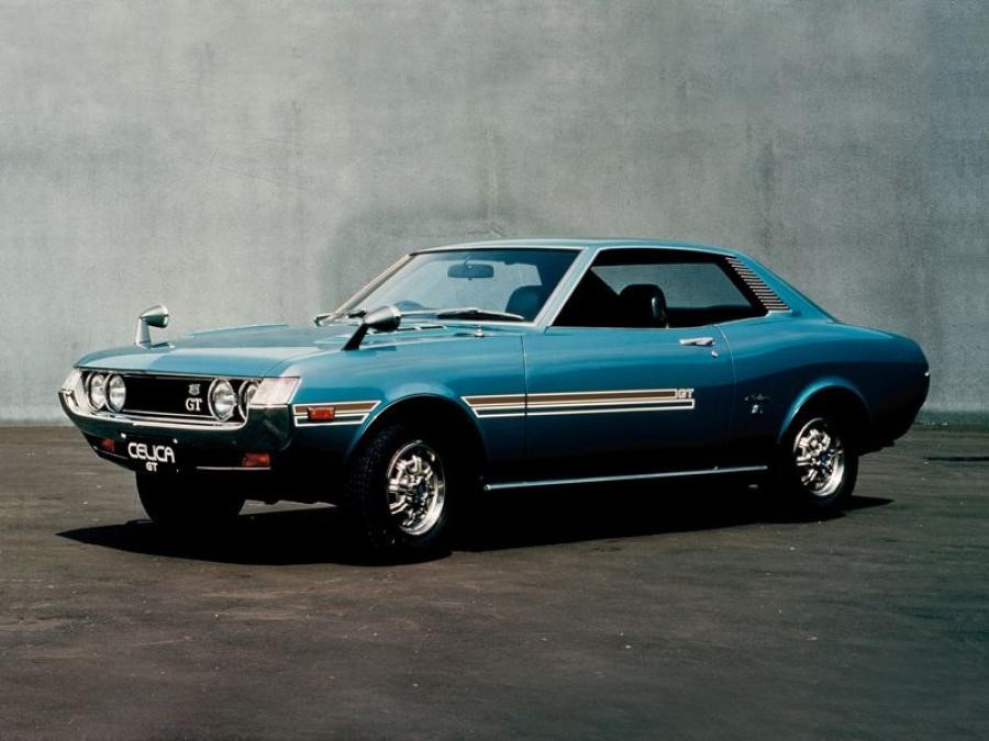 Премьерное авто модификации Celica (1970 год)