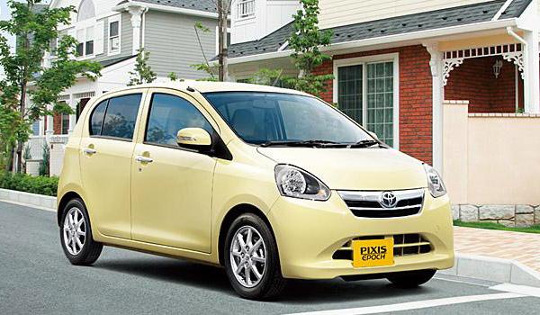 Рестайлинг Toyota Pixis Epoch