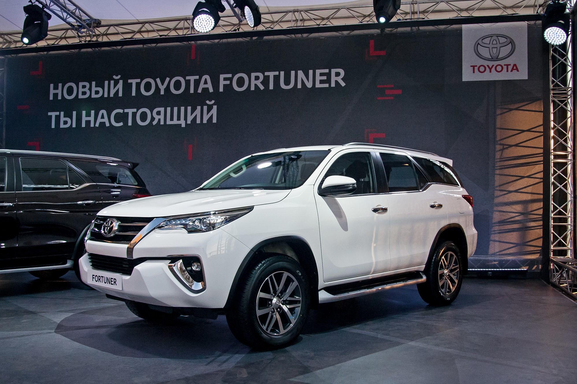 Российская премьера Toyota Fortuner