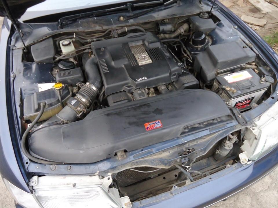 Силовой агрегат 1UZ-FE под капотом Toyota Celsior