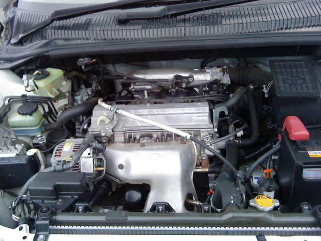 Силовой агрегат 3S-FE под капотом Toyota GAIA 2001 г. в.
