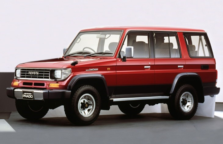 Toyota 1990 года – Land Cruiser Prado