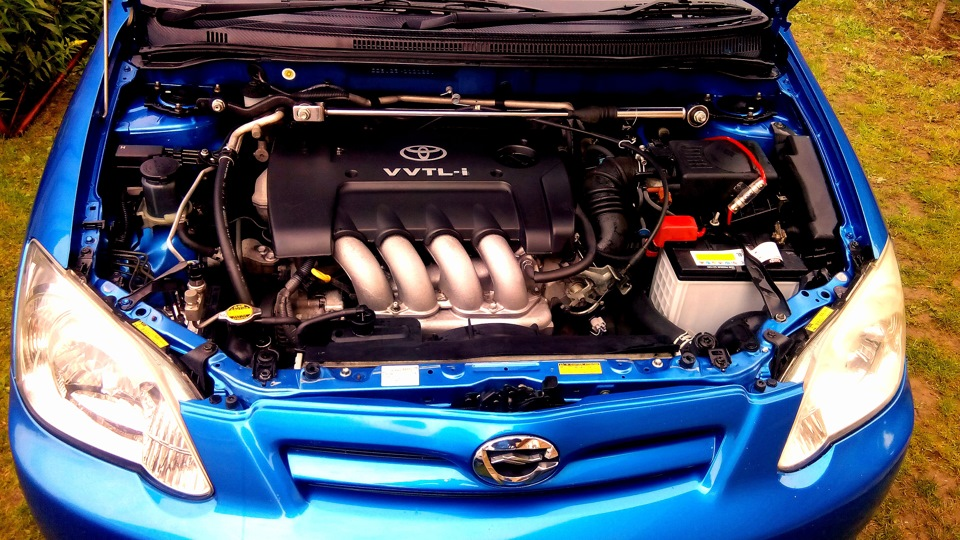 Toyota Allex двигатель 2ZZ-GE