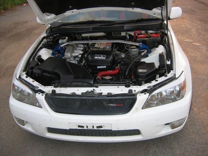 Toyota Altezza 2000г.в. с двигателем 3S-GE 2 л