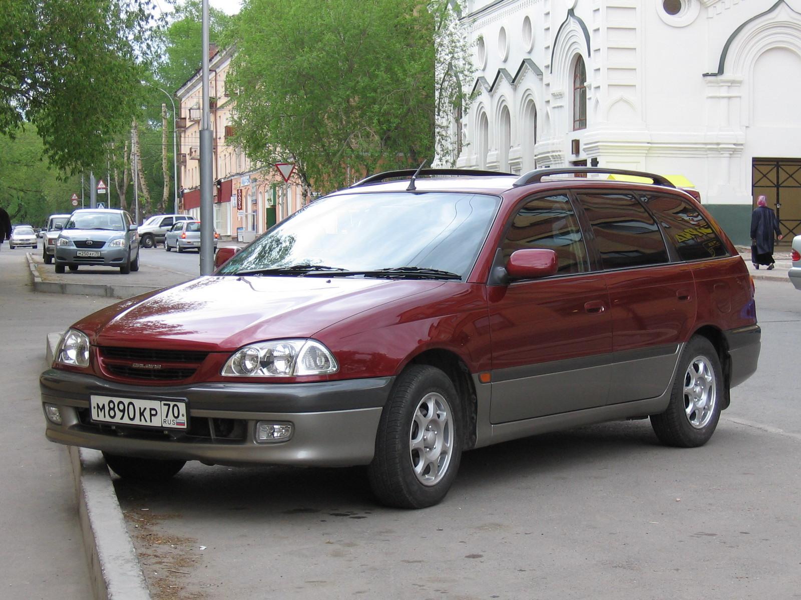 Toyota Caldina 1996 года