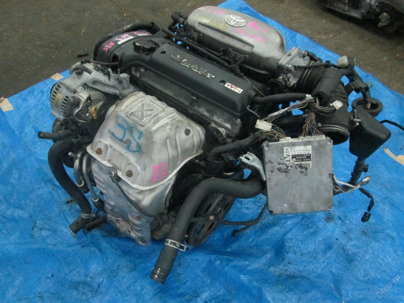 Toyota Caldina двигатель 3S-GE