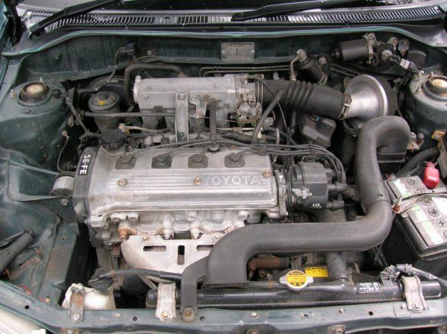 Toyota Caldina двигатель 5E-FE