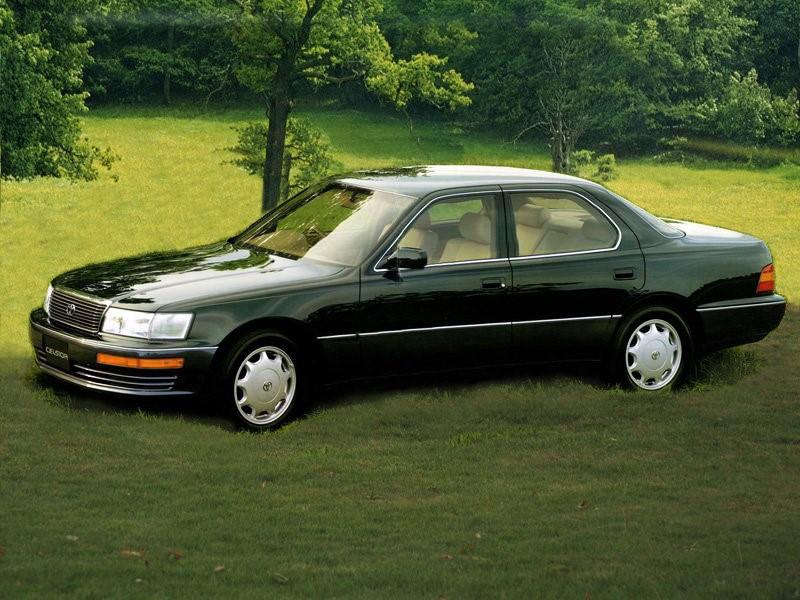 Toyota Celsior первого поколения (рестайлинг)