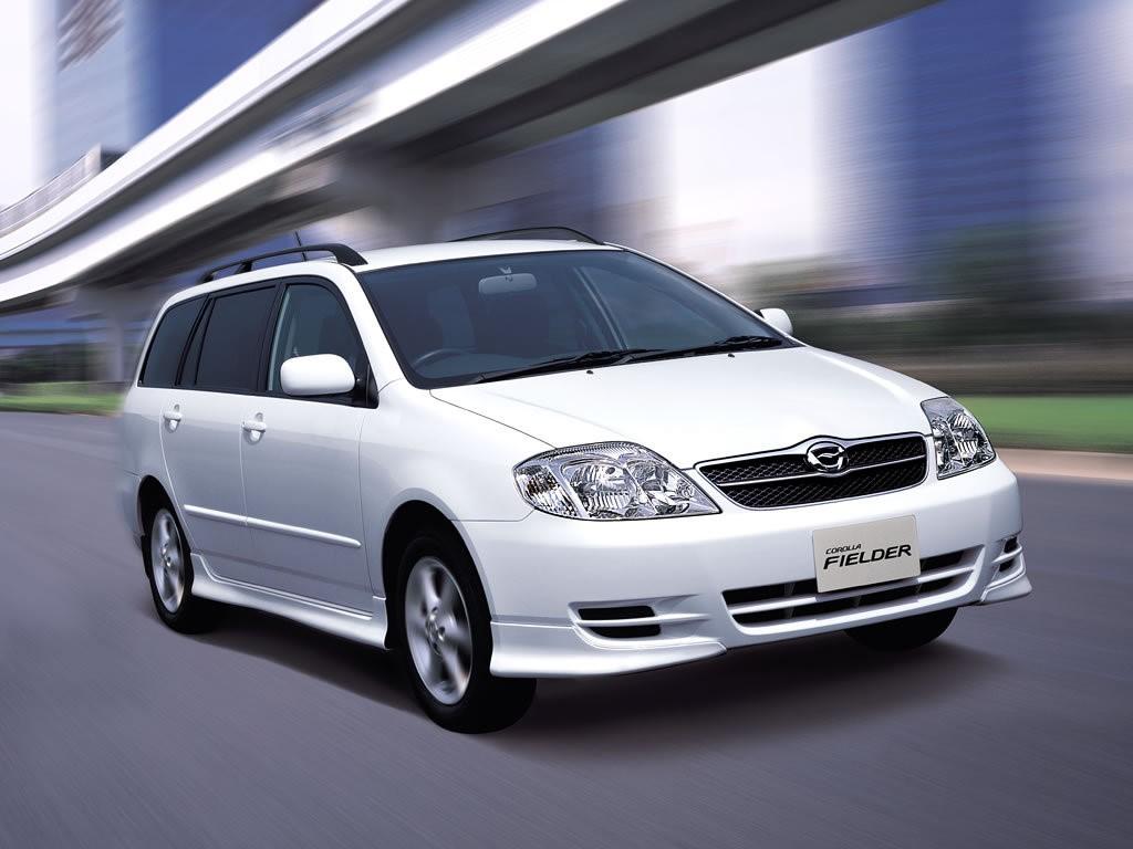 Семейная гостиница с изящными обводами Toyota Corolla Fielder