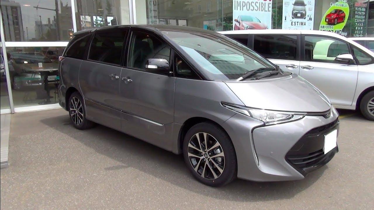 Toyota Estima 2016 года