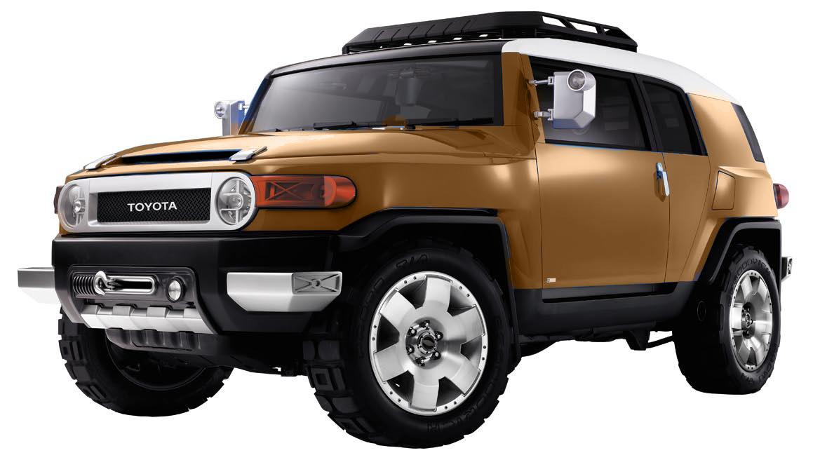 Toyota FJ Cruiser 2006 года для Японии