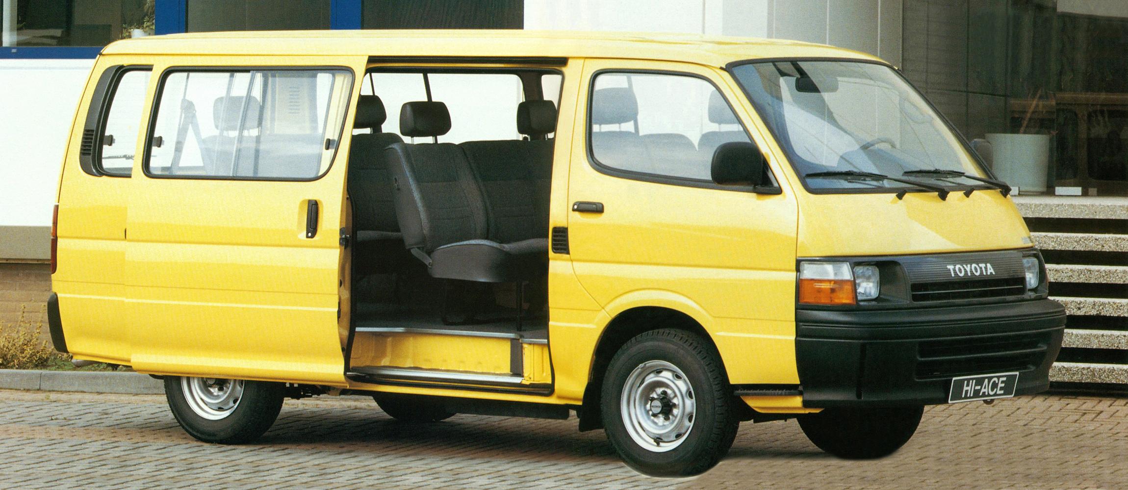 Toyota Hiace 1995 года