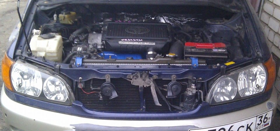 Toyota Ipsum с индекторным двигателем 3S