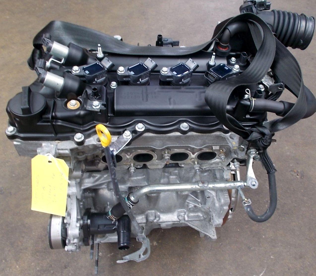 Toyota iQ двигатель